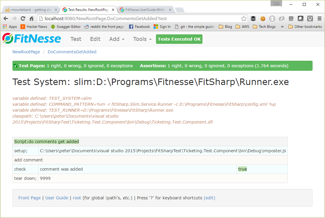 Getting FitNesse to Work – Coding Daddy Dobbs