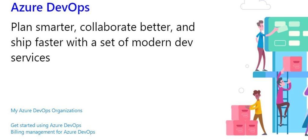 Azure DevOps home page